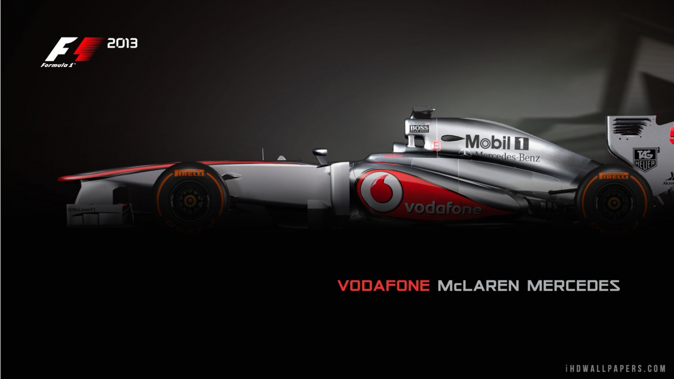 Free download Vodafone McLaren Mercedes F1 2013 HD ...