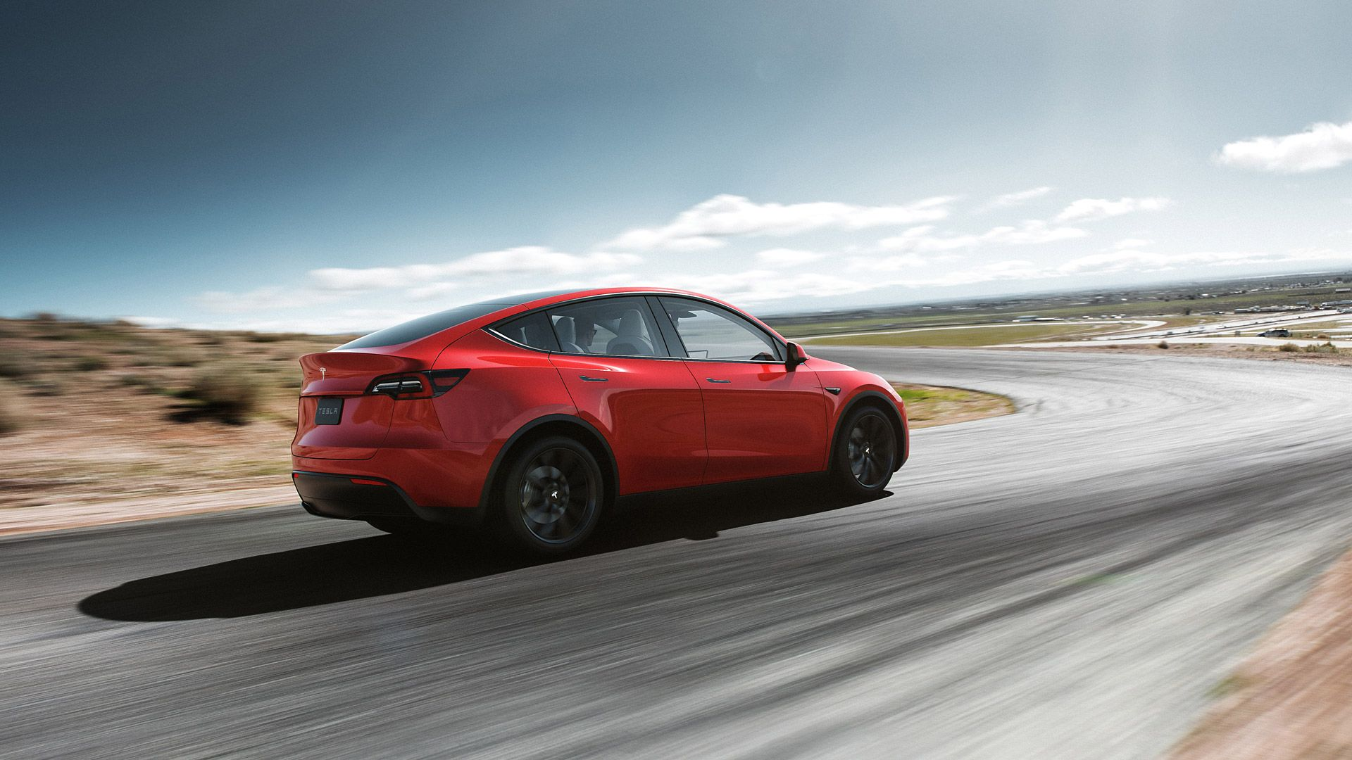 Tesla Model Y Long Range 2020 Wallpapers 1920x1080