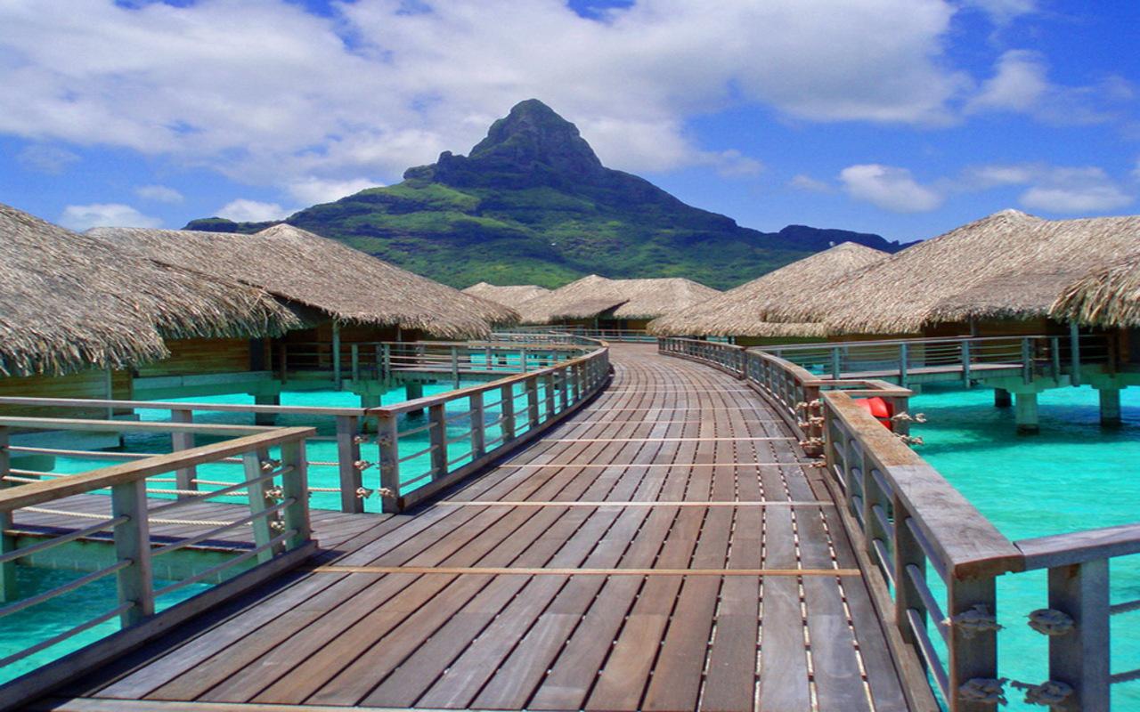 Bora Bora Island Top Wallpaper   Travel HD Wallpapers 1280x800