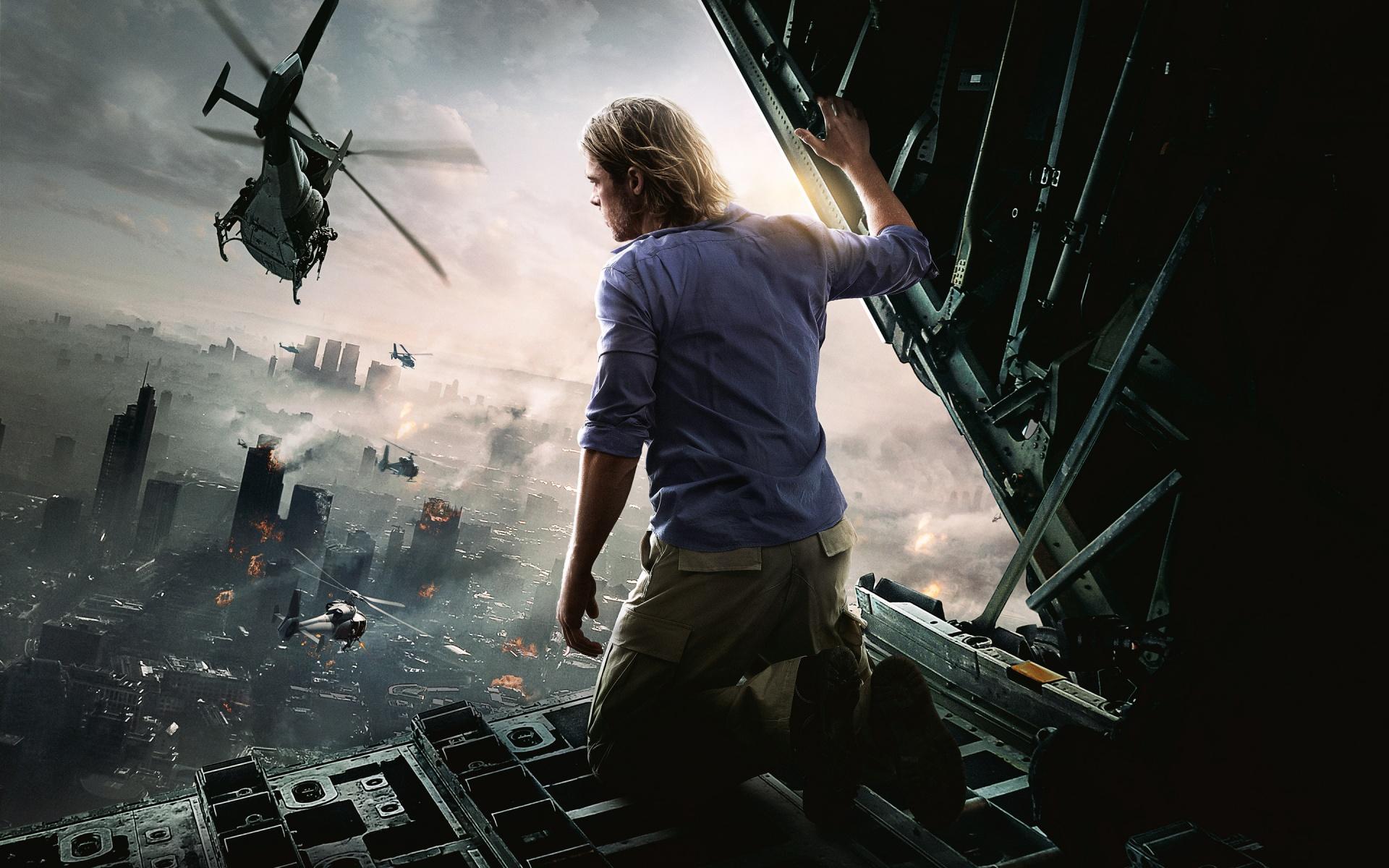 Brad Pitt World War Z Movie Wallpapers HD Wallpapers 1920x1200