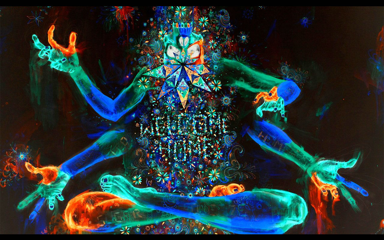 Psychedelic wallpapers HD 1280x800