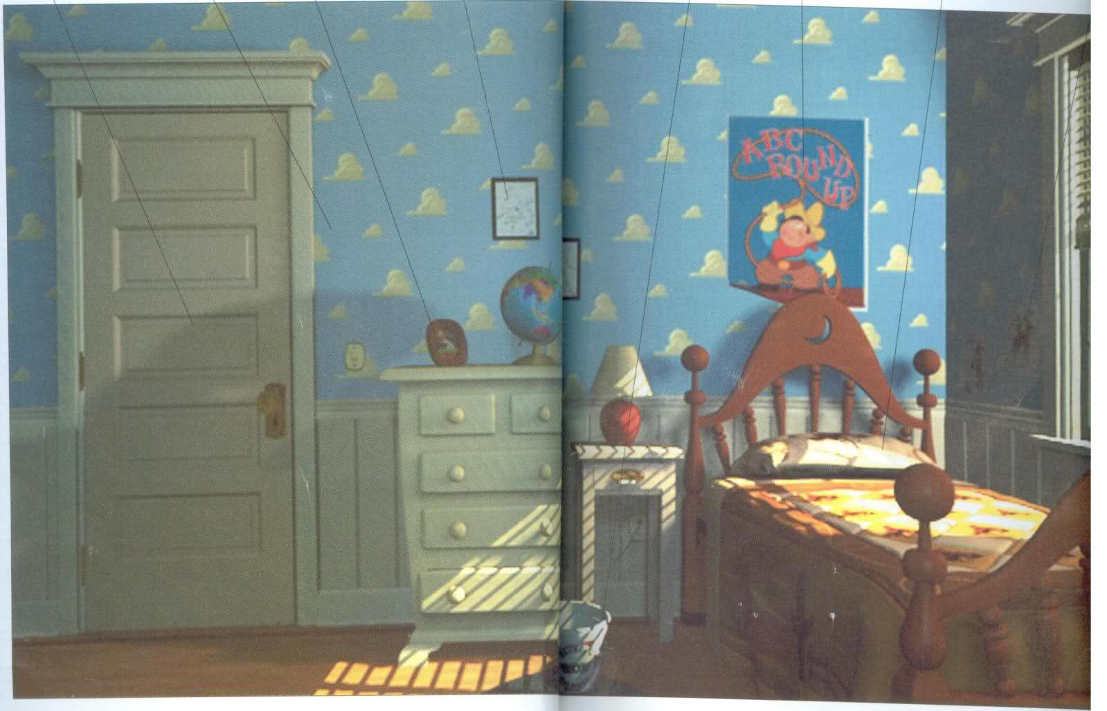 Free Download Toy Story Andys Room Fileandys Bedroomjpg 1599x1027