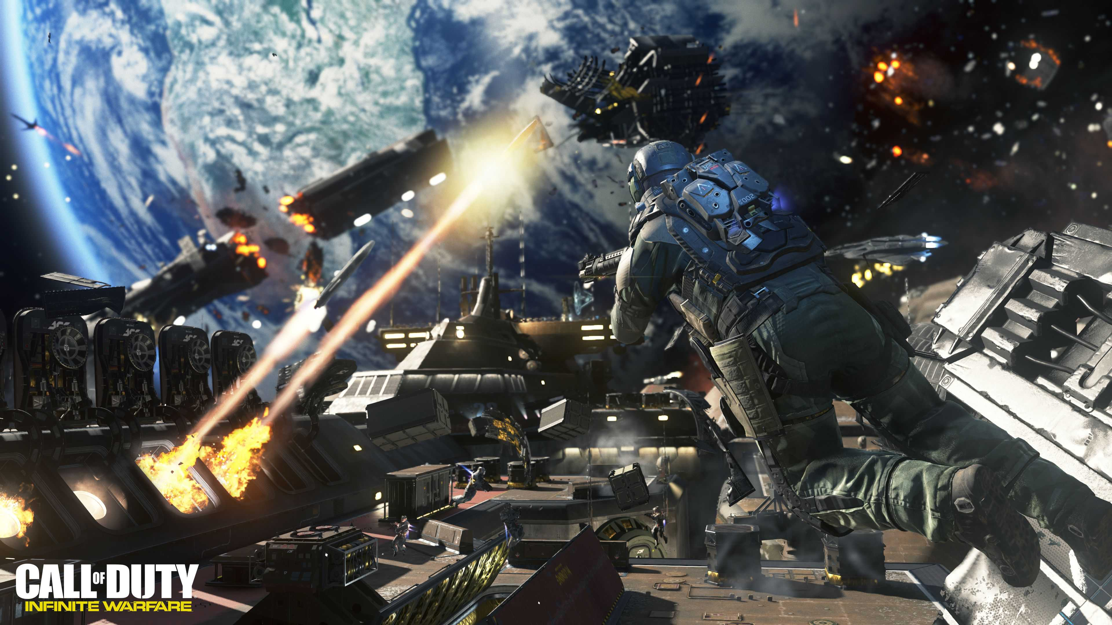 Call Of Duty Infinite Warfare 4k Ultra HD Wallpaper Background 3840x2160