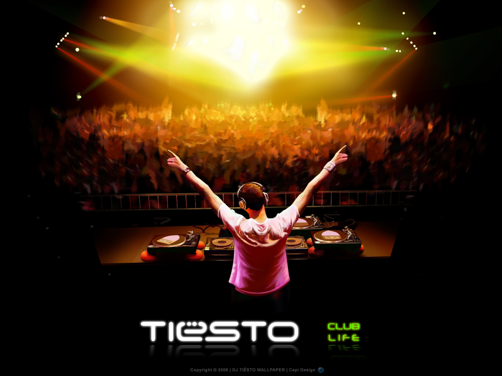 DJ Tiesto Wallpapers DJ Tiesto HD Wallpapers DJ Tiesto 1600x1200
