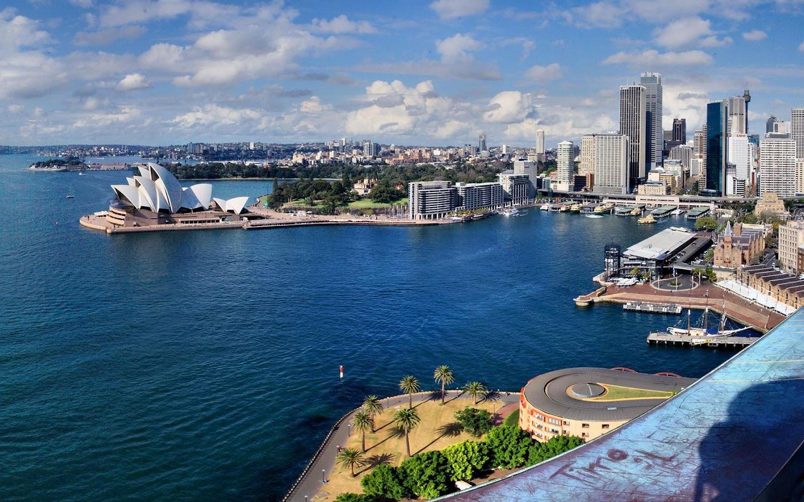 Stad Sydney wallpaper HD steden Sydney Australi foto 1600x1000
