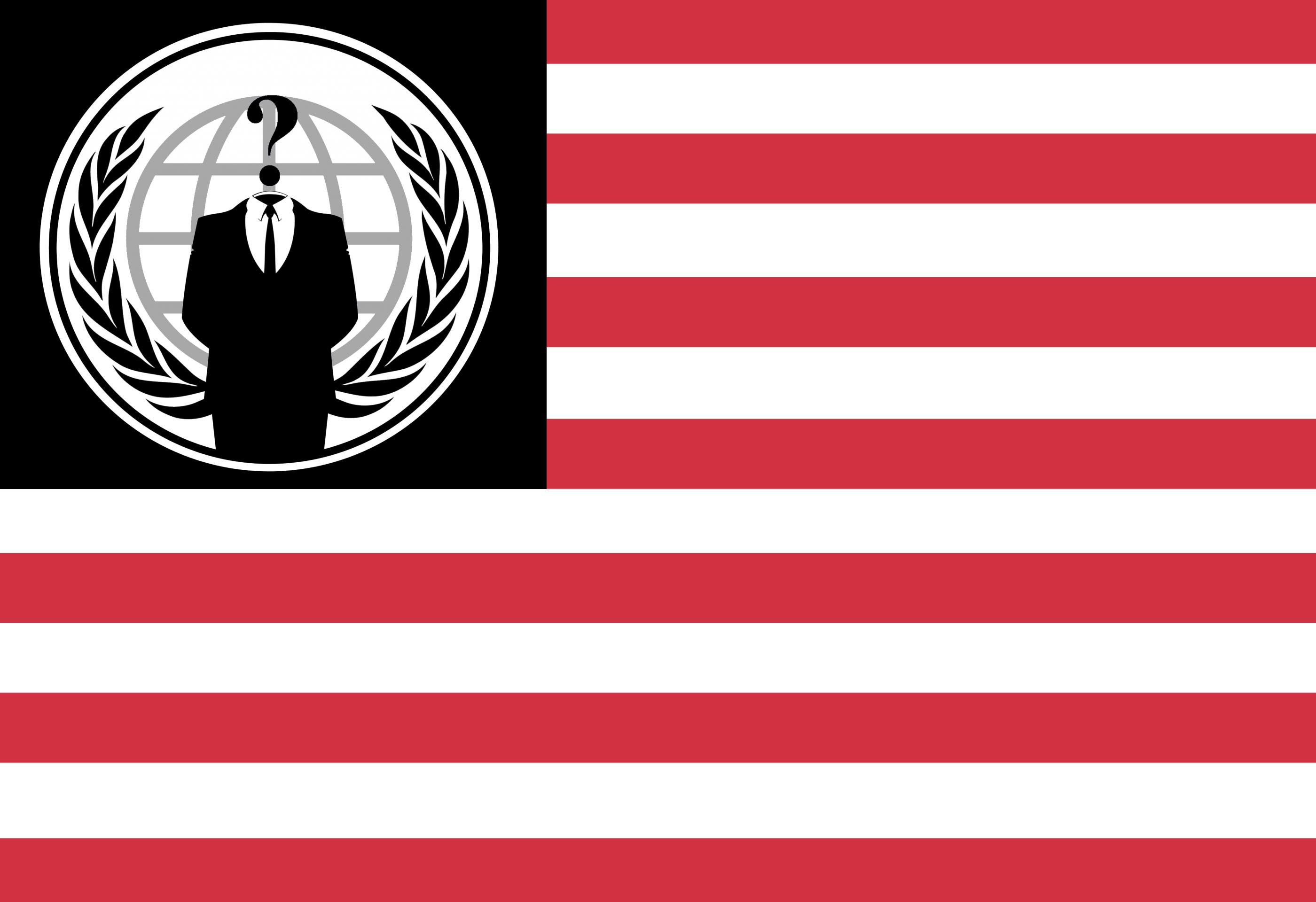 Anonymous American Flag by anonymouslegion2012 2800x1920
