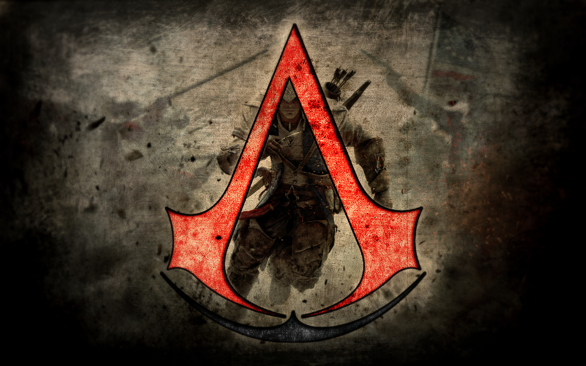 Free Download Assassins Creed Logo Wallpaper 1920x1200 For Your