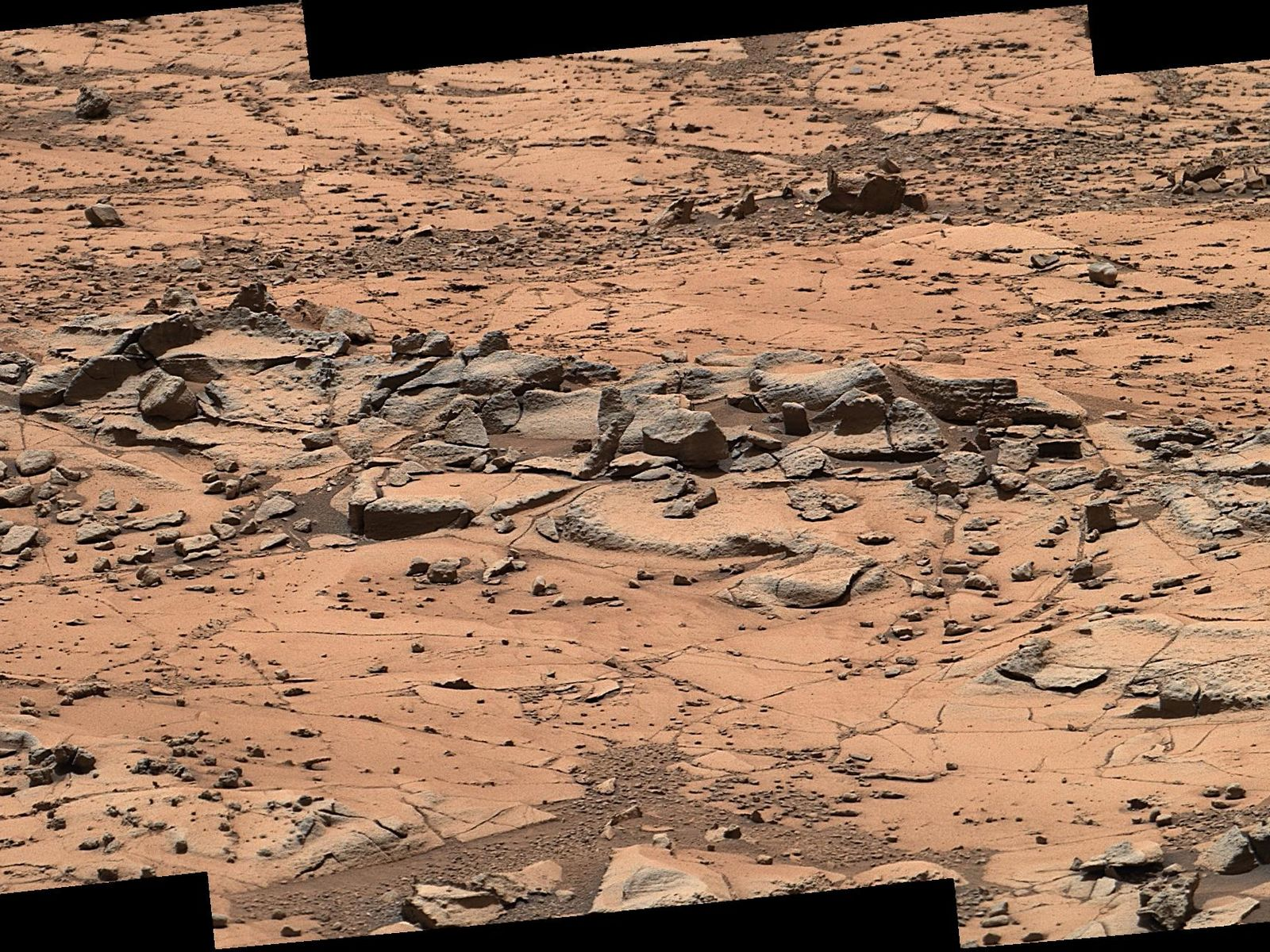 Space Images Erosion Resistance at Pink Cliffs at Base of 1600x1200