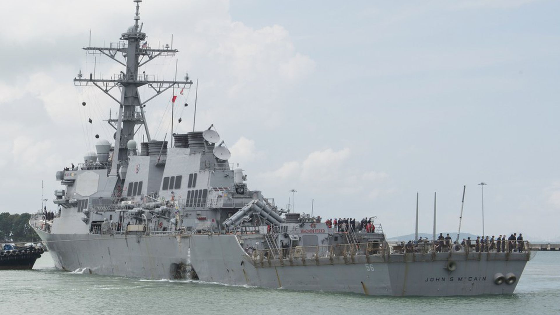 Navy IDs ten sailors missing from USS John McCain collision   Axios 1920x1080