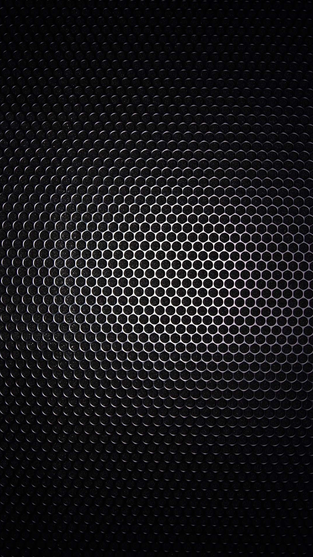 Galaxy S4 Wallpaper with Black metal grid design in 1080x1920 1080x1920