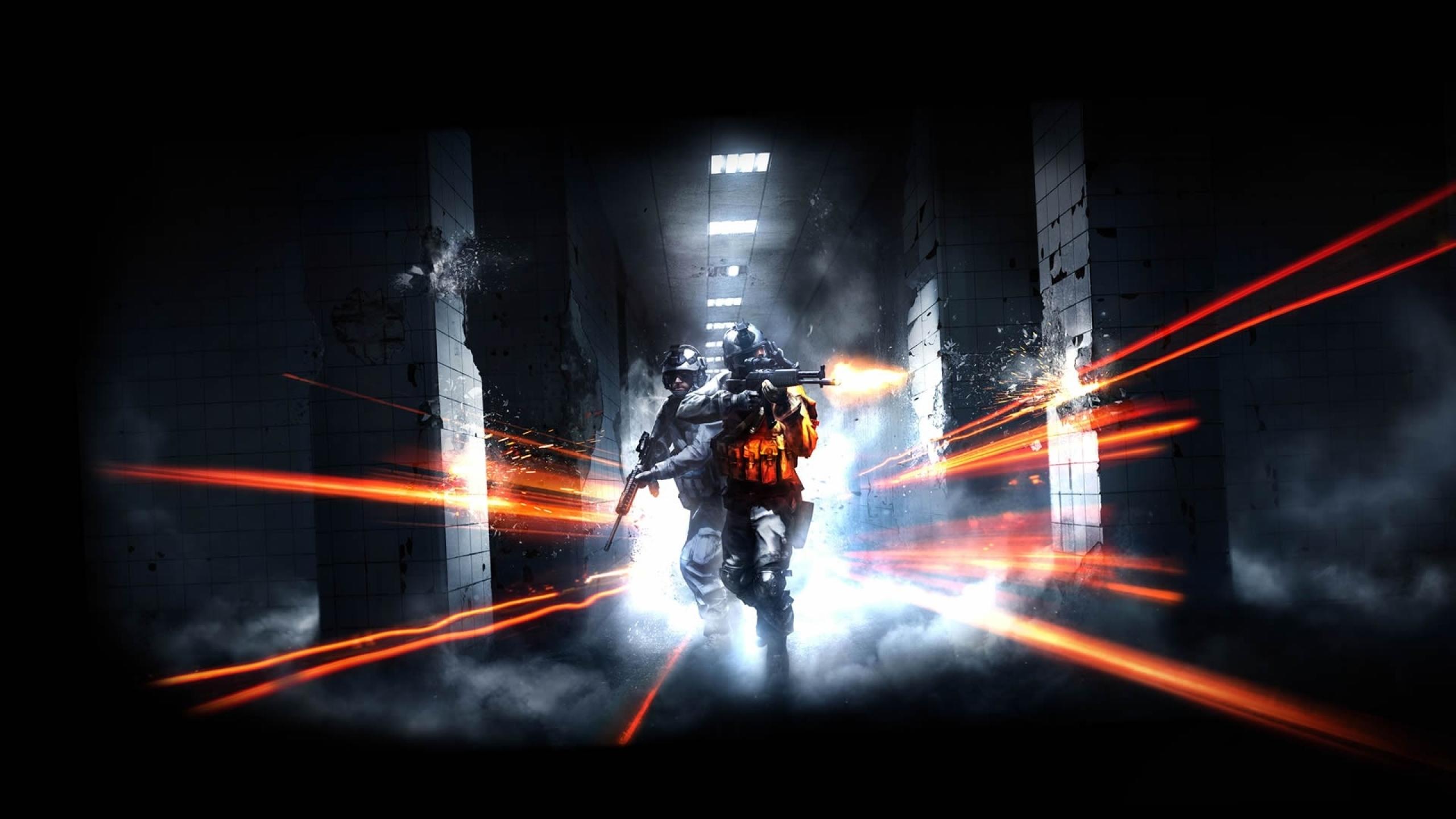 2560x1440 video games battlefield guns dice shooter fps gaming 2560x1440