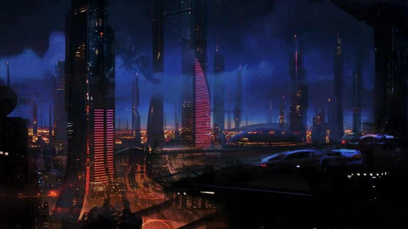 CitySci Fi Pictures Future City Cyberpunk and Cities 800x450