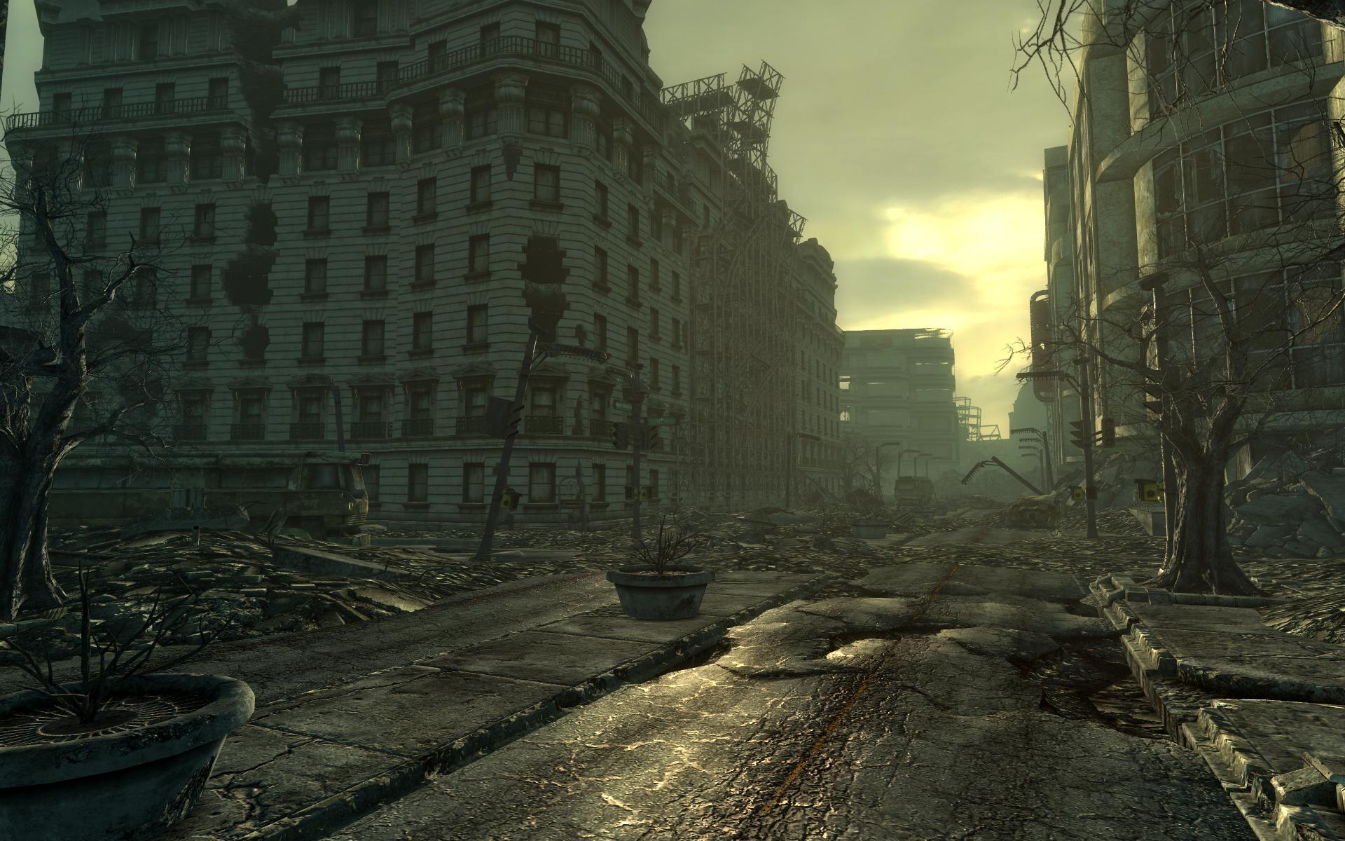 Video games screenshots fallout 3 wallpaper background 1920x1200