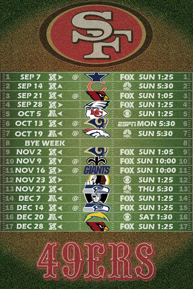 49ers 2015 schedule wallpaper wallpapersafari - 2015 49ers schedule wallpaper ...
