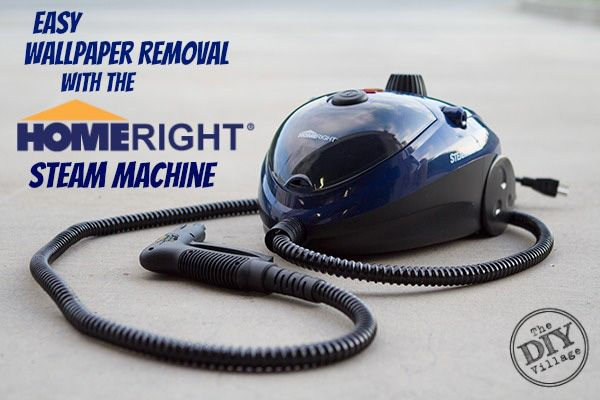 Easy Wallpaper Removal With the HomeRight SteamMachine 600x400