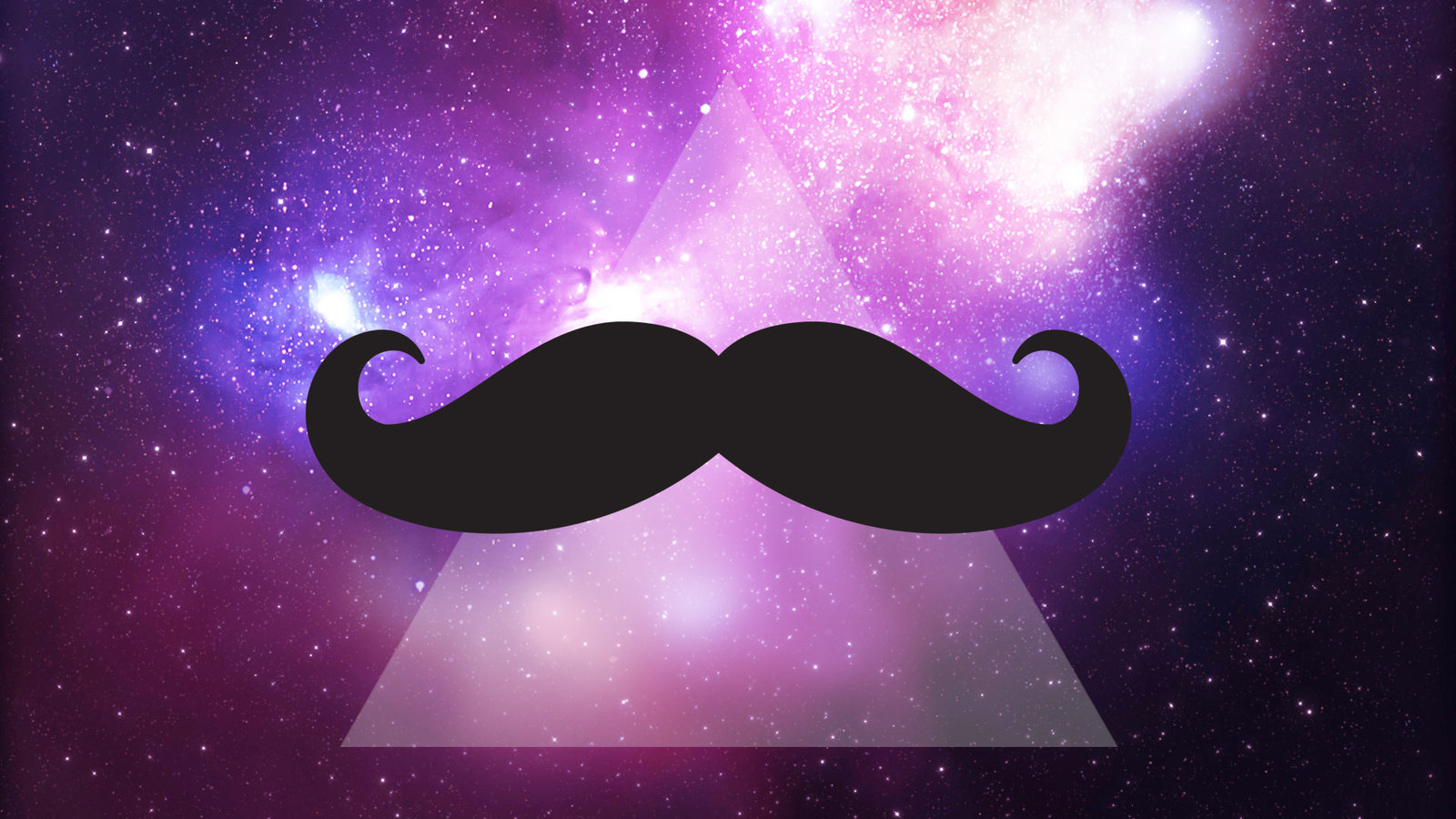 Cute Girly Mustache Wallpaper Download