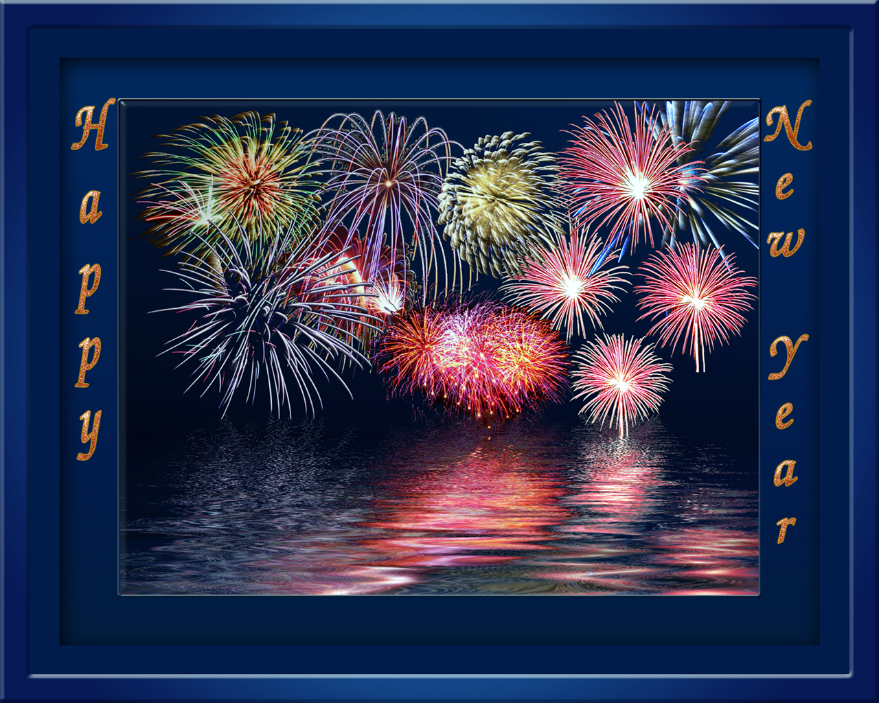 Happy New Years Wallpaper 1280x1024