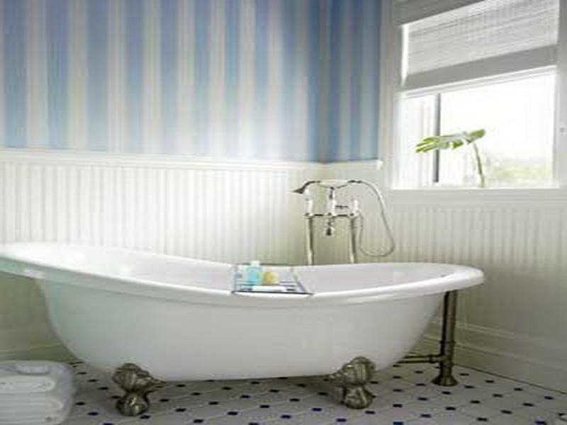 Beautiful Blue Bathroom Wallpaper 800x600