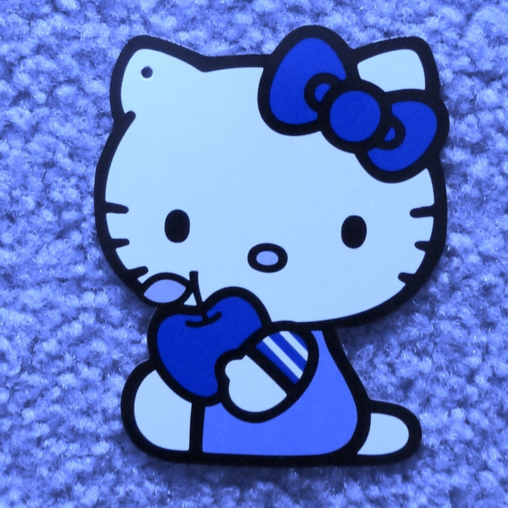 Blue Hello Kitty Wallpaper Wallpapersafari