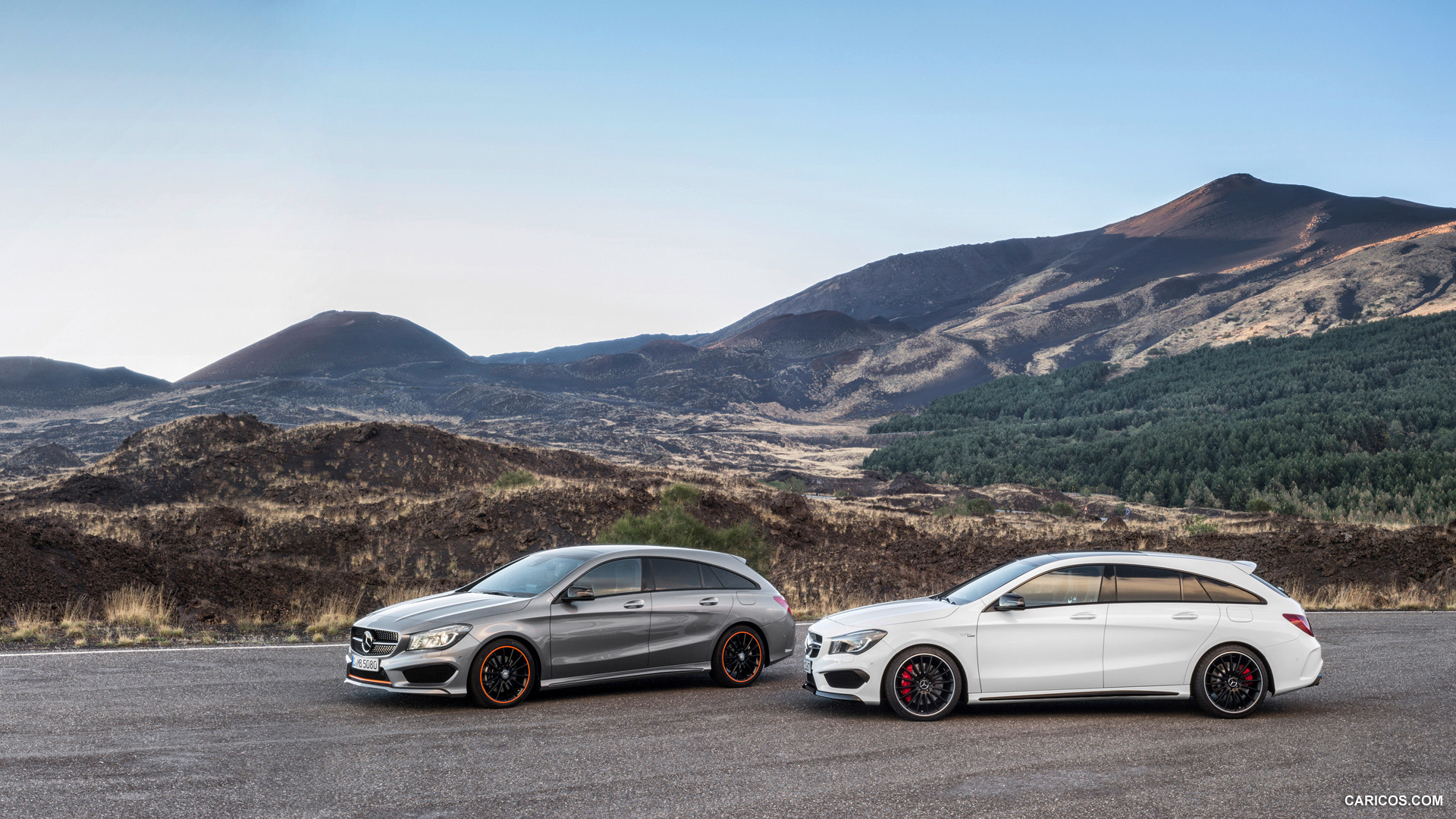 2015 Mercedes Benz CLA 45 AMG Shooting Brake   Side HD Wallpaper 41 1920x1080