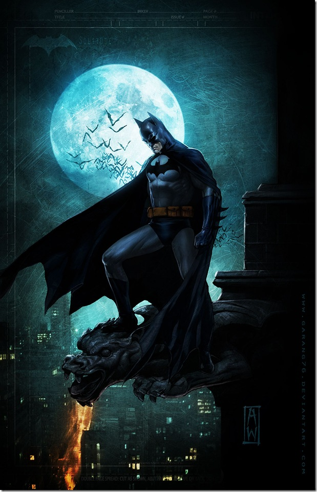 11 Killer Examples of Batman Fan Art Evolutionary Designs 619x962