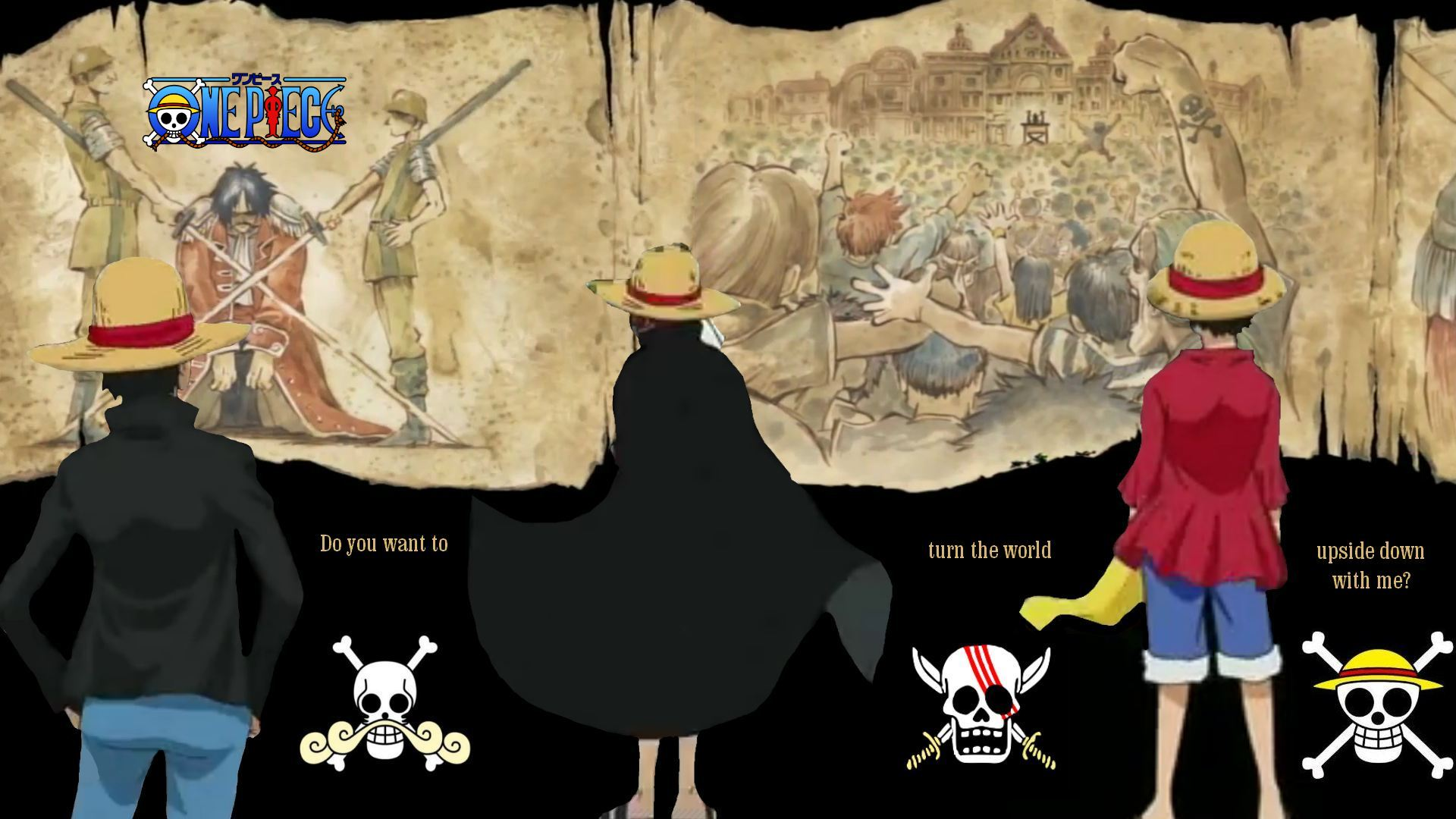 one piece mugiwara wallpaper by sturmsoldat1 d5cu2vw BlogNOBON 1920x1080