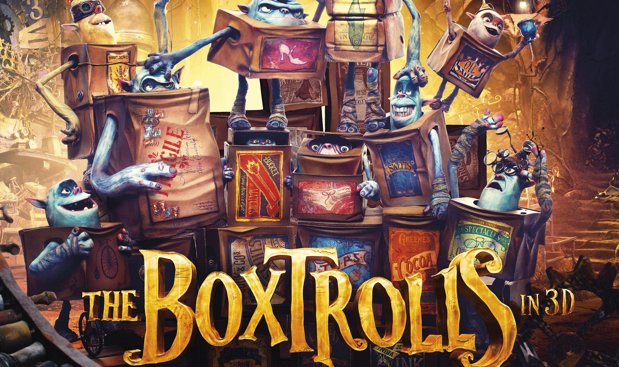 The Boxtrolls Poster Wallpapers Wallpapers Quality 2026x1203