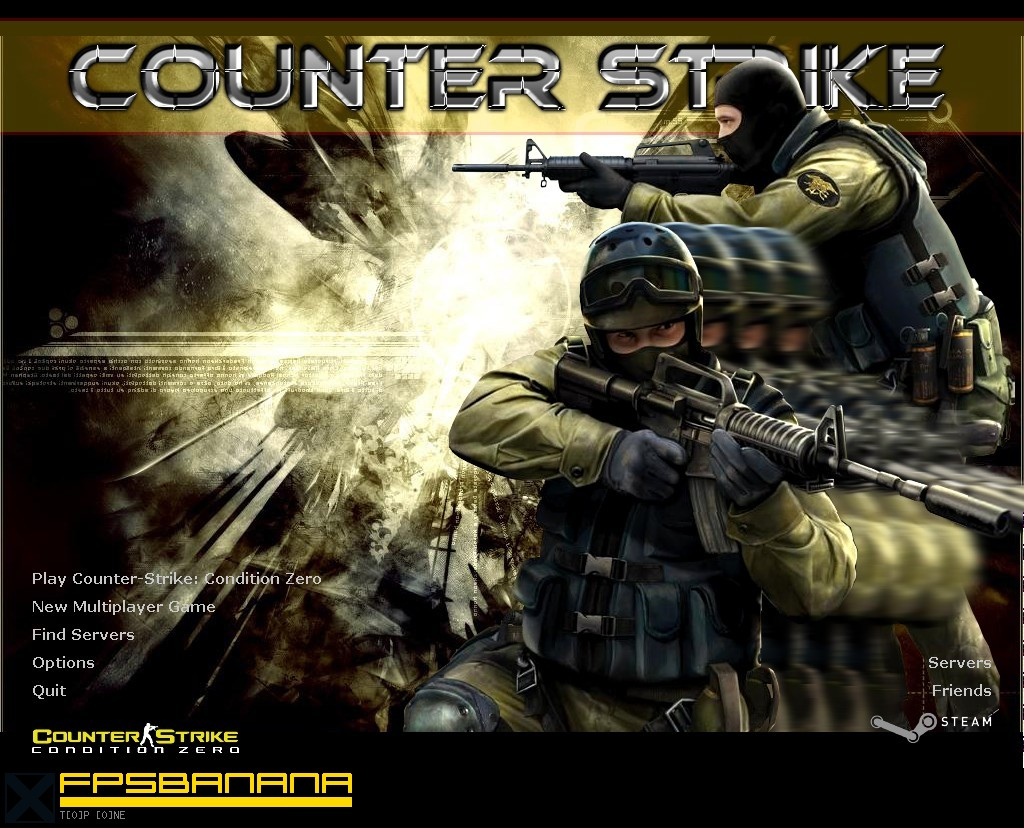 Abstract CZ Background [Counter Strike Condition Zero] [GUI Mods] 1024x828