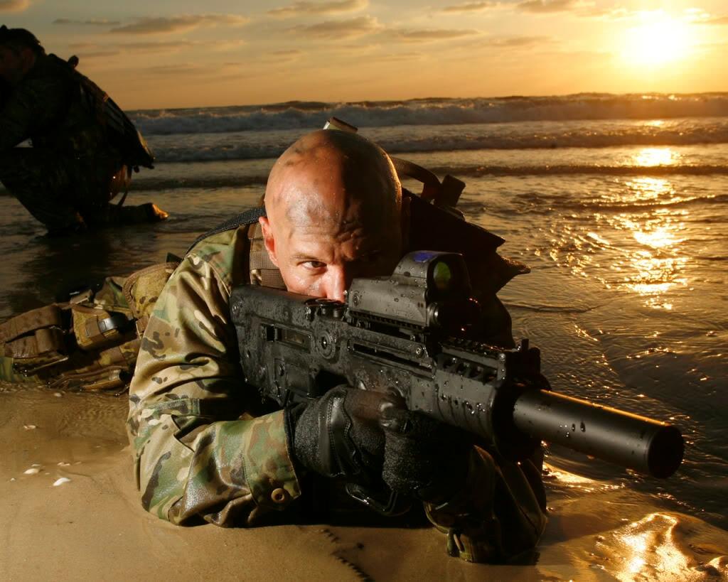 Cool US Navy SEALs Photo Wallpaper 1024x819