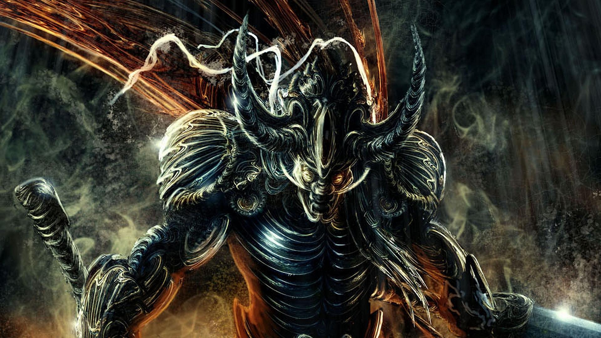 Evil Demon Wallpaper - WallpaperSafari