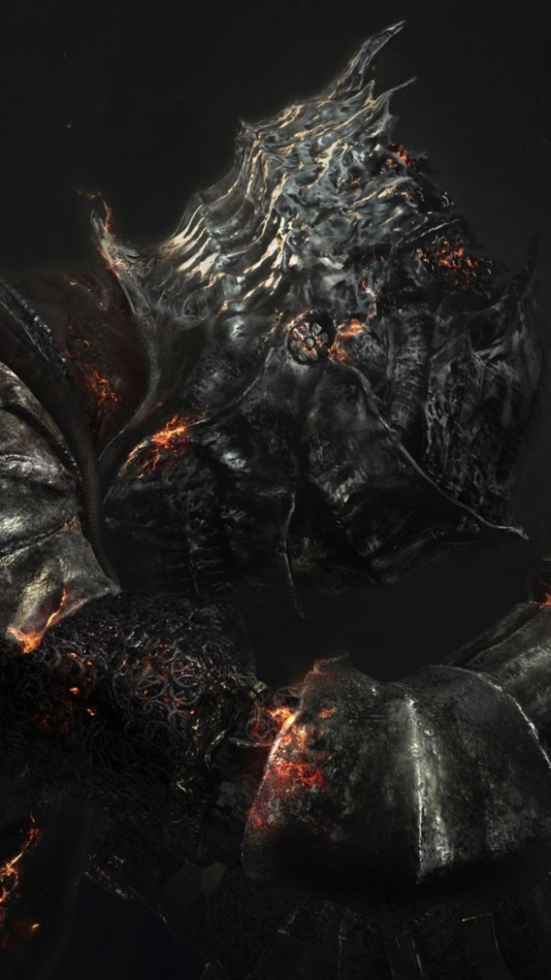 Dark Souls 3 iii Dark Souls 3 Armor Burning Skeleton Sword 1080x1920