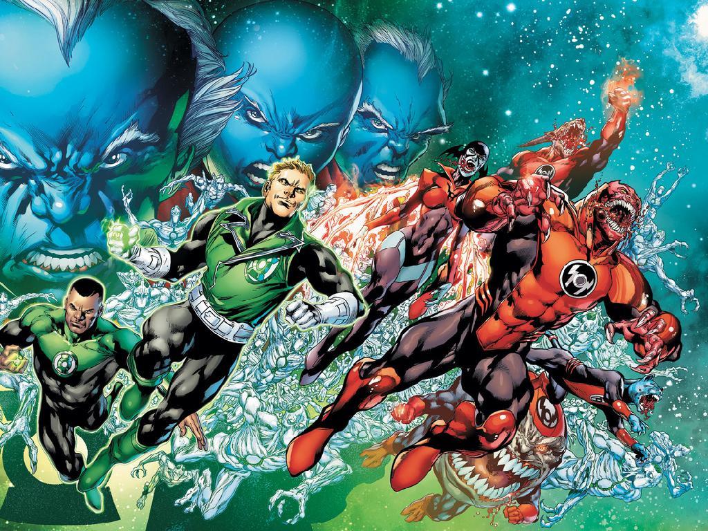 Northwest Comics Games Green Lantern Corps wallpaper 1024x768