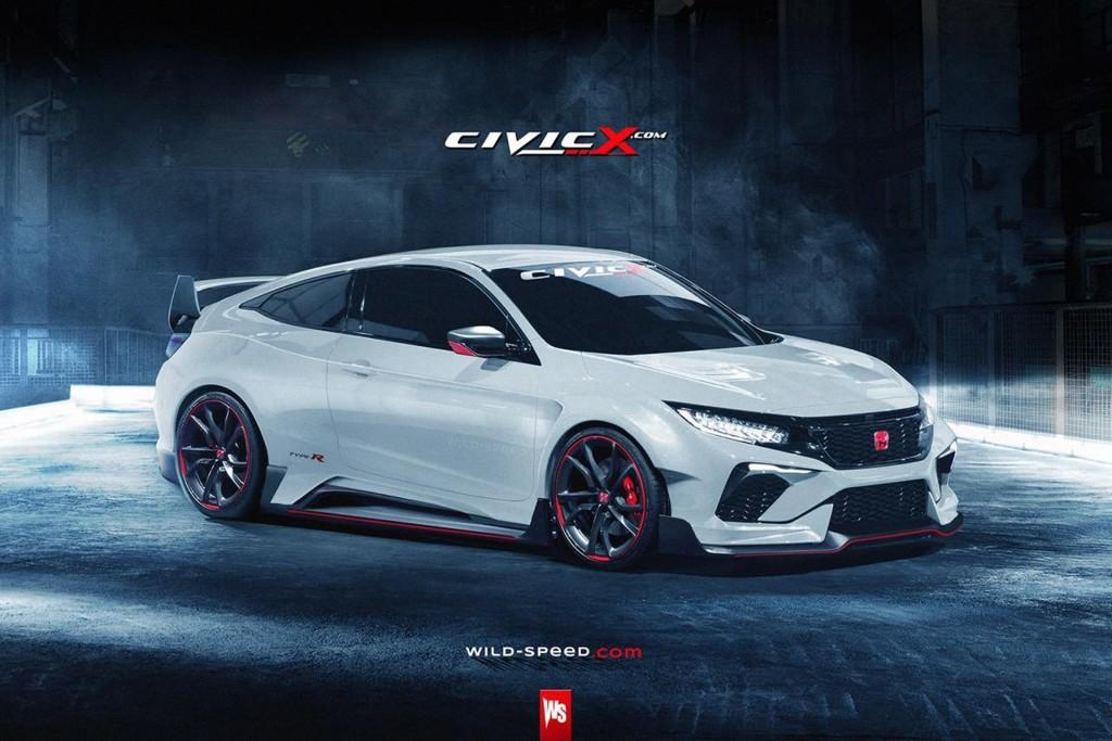 2016 Honda Civic Type R Wallpaper For PC Cool Cars Design 1024x683