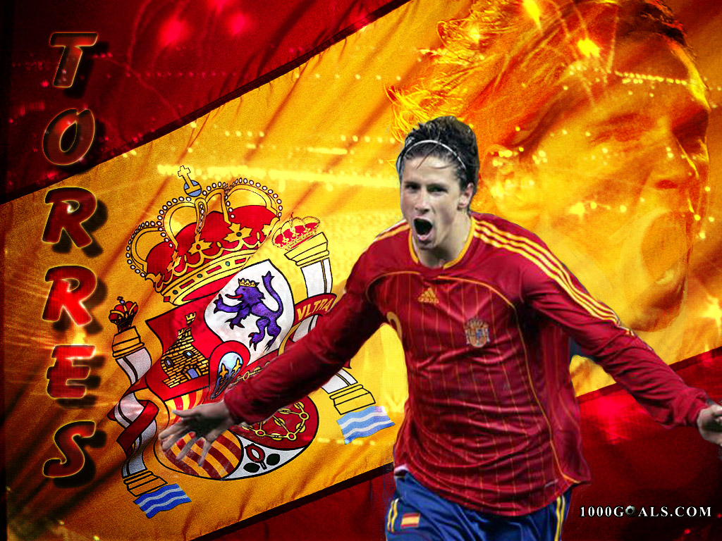 Stars Fernando Torres Spain Best Player Profile Wallpapers 2011 1024x768