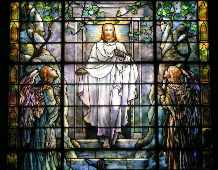 Stained glass art window religion df wallpaper 1615x1265 182571 736x576