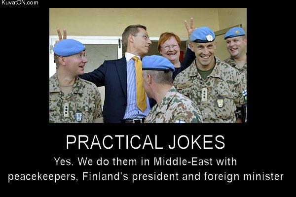 practical jokes Finland 600x400