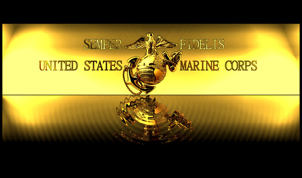 Usmc Desktop Gold Themed By Matin Jan 600x354