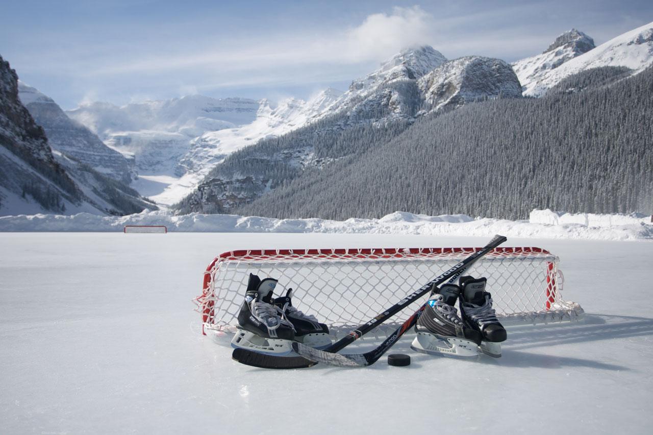 Pond Hockey Background Slide background 1280x852