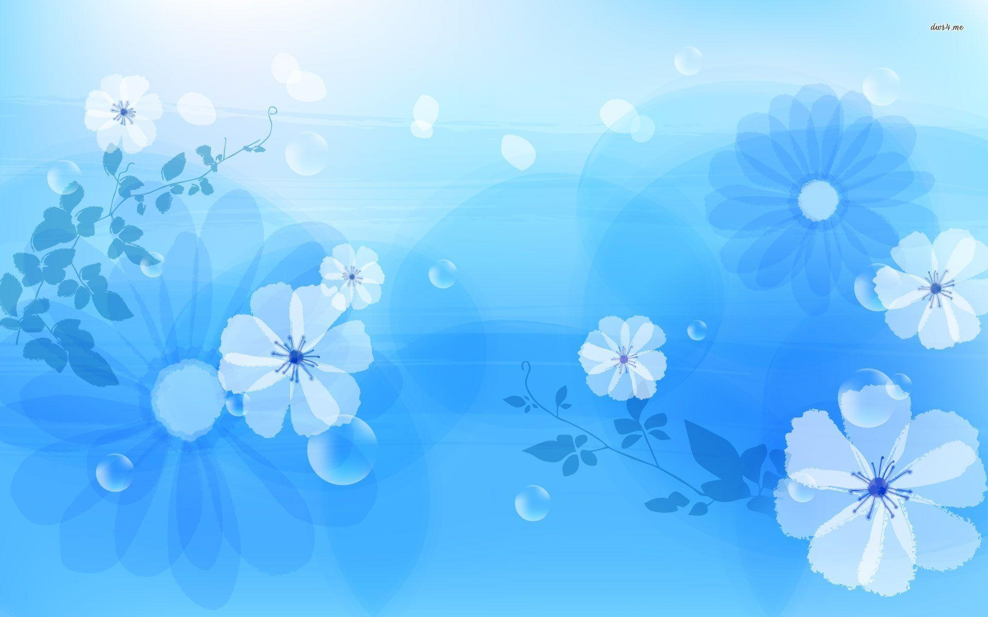 Blue Flowers Wallpapers 1920x1200