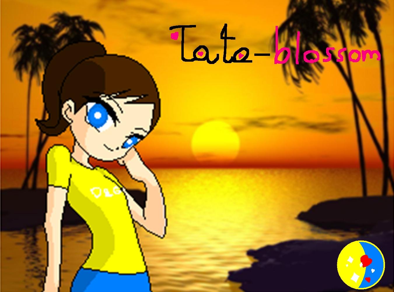 tato blossom and qeti11 Tato blossom wallpaper 1351x1004