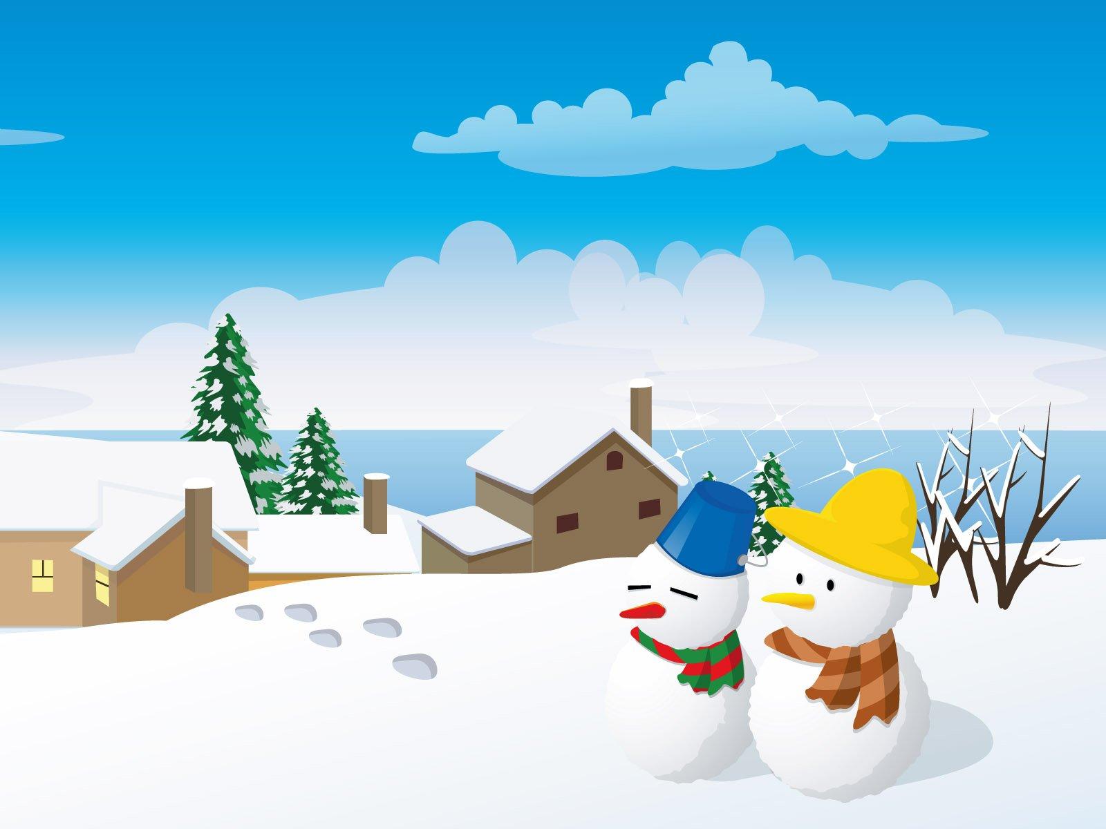 48+ Cartoon Winter Wallpaper on WallpaperSafari