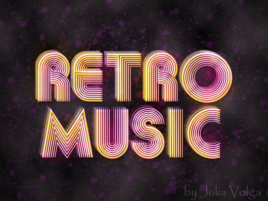 Retro music wallpaper wallpapersafari for Retro images