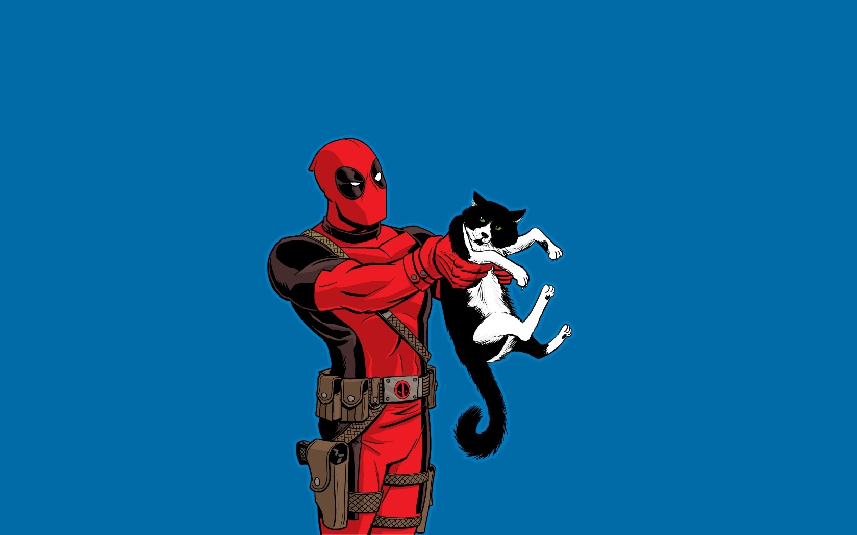 Deadpool Wallpaper   Deadpool Cat 77742   HD Wallpaper