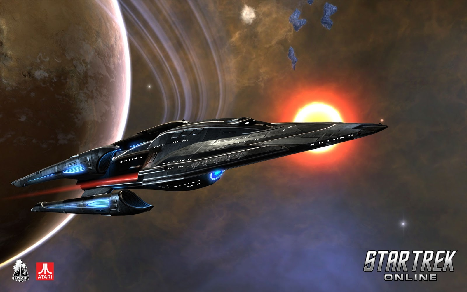 Star Trek Online Gaming Wallpapers and Theme for Windows 7 and Windows 1600x1000