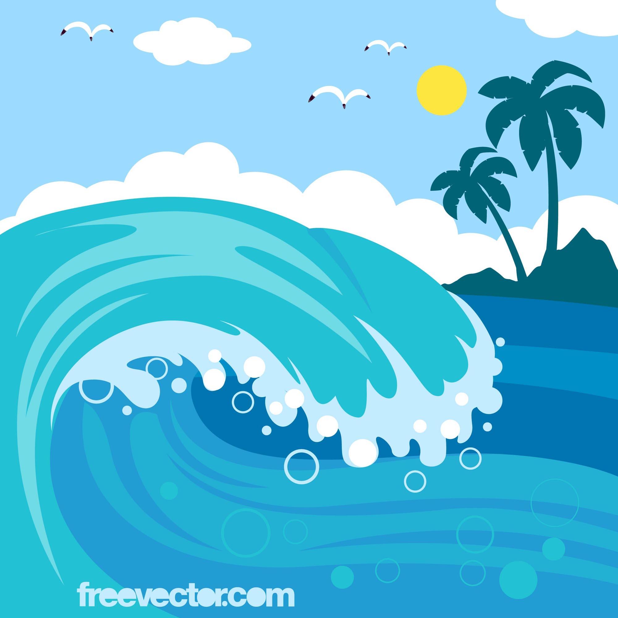 animated beach waves wallpaper