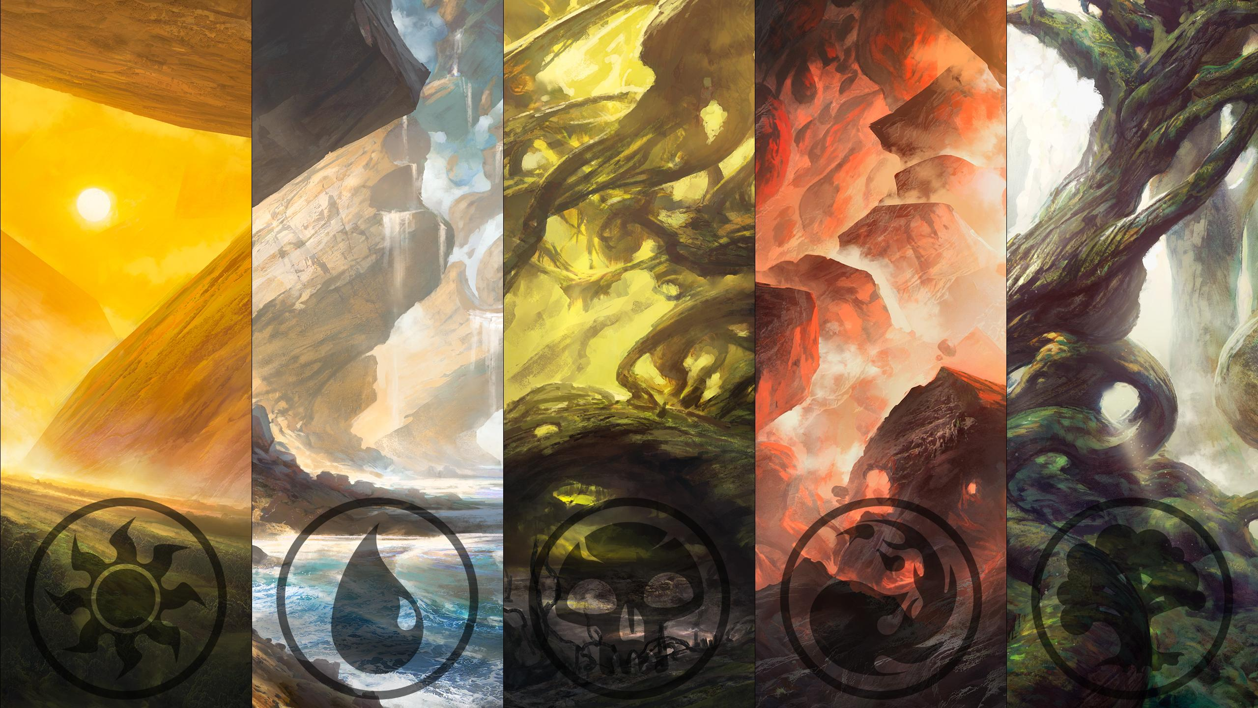 A compilation wallpaper In 2560x1440 of the BFZ Noah Bradley 2560x1440