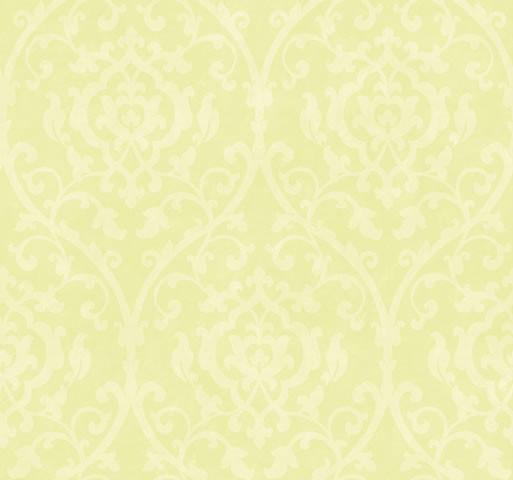 Wallpaper Designer Off White Leaf Trellis Lattice Scroll on Lime Green 513x480