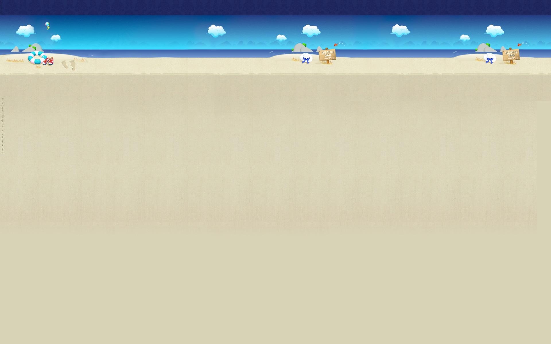 Beach Themed Wallpaper Border Wallpapersafari