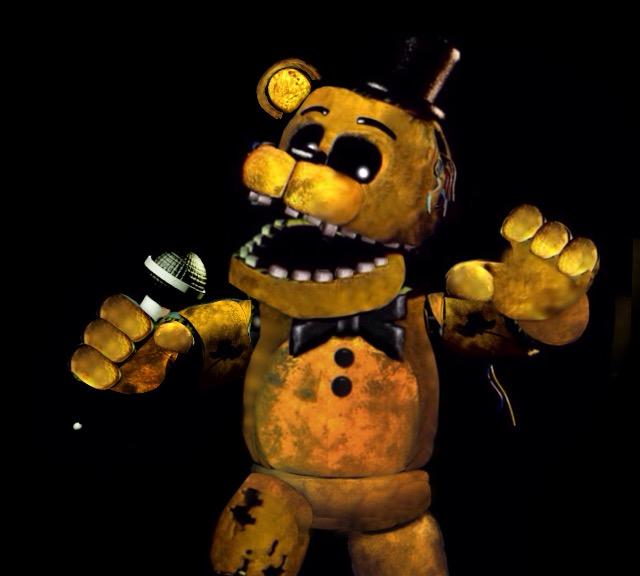 W Golden Freddy Unphantomized by xxChilledChrisxx on 640x576