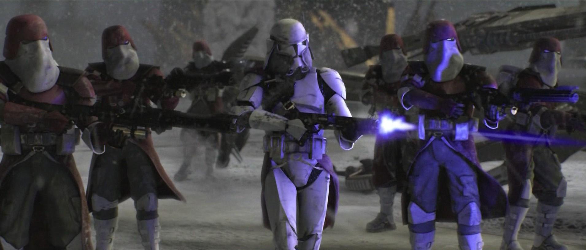 73 Star Wars Clone Trooper Wallpaper On Wallpapersafari